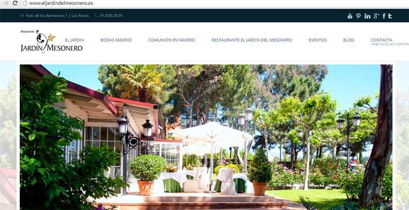Diseño web económico en Madrid